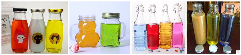 330ml Beverage Glass Bottles for Fruit Juice Container