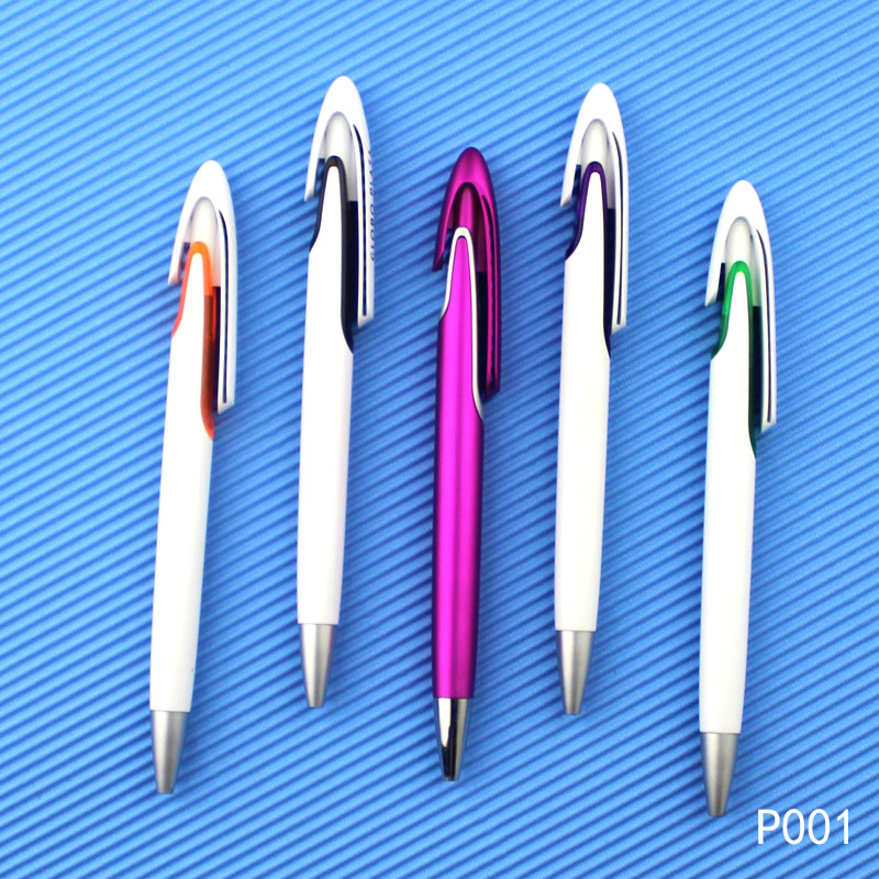 Promotional Gift Plastic Ballpoint Pen for Office Supply Stationery