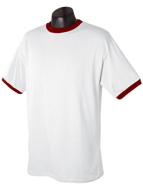 Organic Cotton Racing No Brand Jersey Ringer T Shirt