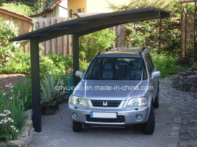 Elegant Appearance High Snow Load Aluminium Carports with Polycarbonate Sheet Roof