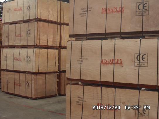 Phenolic Glue Film Faced Plywood Brown Film Poplar Core