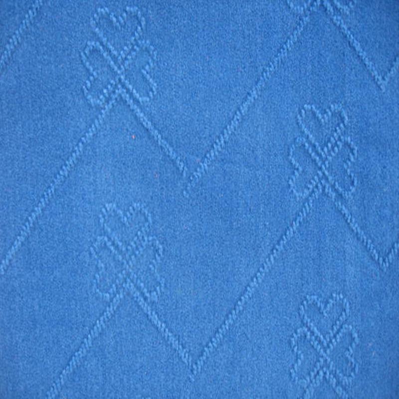 Single Color Velour Jacquard Carpet