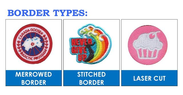 Customized Karate Embroidered Design Patches