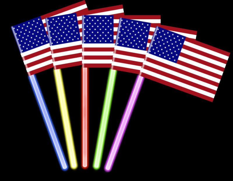 Concert Glow Flag Glow in The Dark
