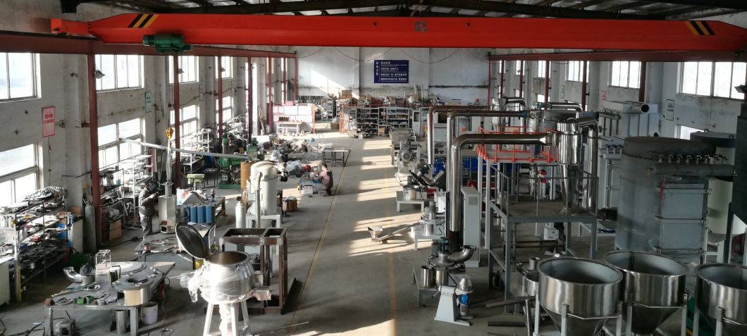 Powder Coatings Extrusion with Specialised in Twin Screw Extruders for The Powder Coatings Industry Made with a Co-Rotating Twin Screw