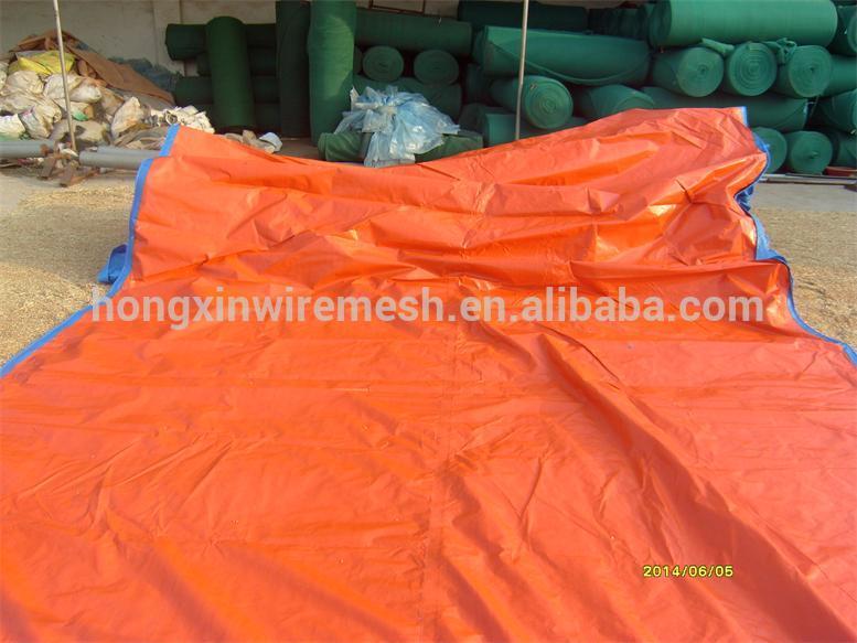 orange tarpaulin