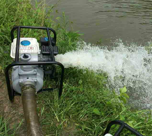 China Taizhou Factory 2 Inch Wp20 50mm Petrol Irrigation Machine Water Pump