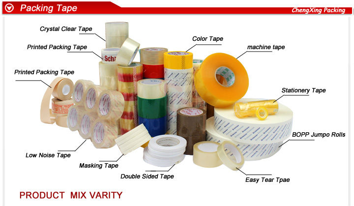 Long Lasting and Wipe-able bopp packaging tape for sale
