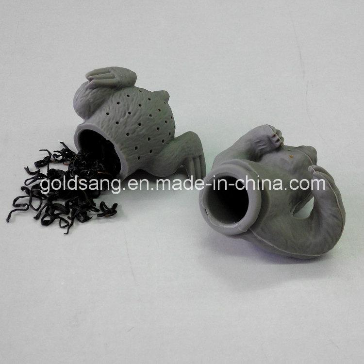 New Style Animal Silicone Tea Bag Sloth Silicone Tea Strainer