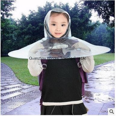 Automatic Transparent Umbrella Cap 01