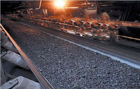 Rubber Conveyor Belt Swr Solid Woven Fire Resistant Belt