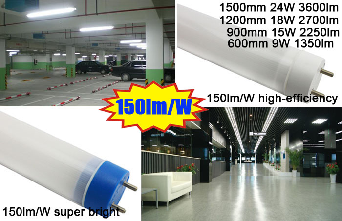 High Lumen T8 LED Tube LED Fluorescent Lamp