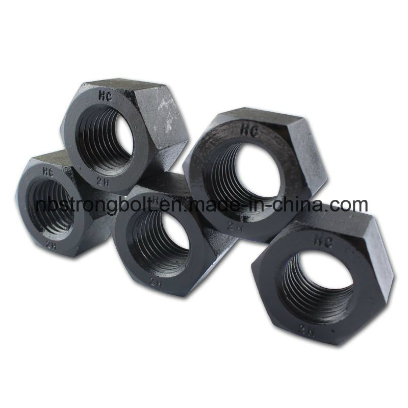 ASTM A194 Gr. 2h Heavy Hex Nut Black