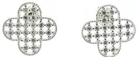 Good Quality & Fashion Lady Jewelry 3A CZ 925 Silver Earring (E6525)