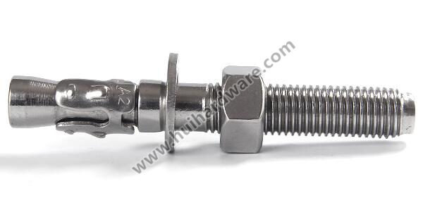 Stainless Steel 304/316 Wedge Anchor/ Through Bolt/ Expansion Bolt