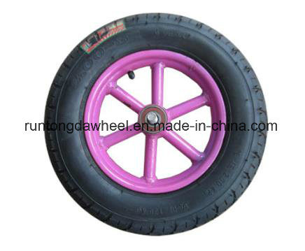 300-8 Pneumatic Rubber Wheel Inflatable Bicycle Tyre