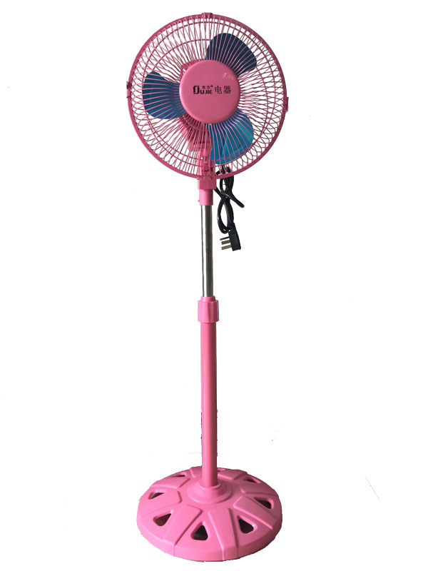 10 Inches Fan-Small Fan-Stand Fan-Plastic Fan-Black