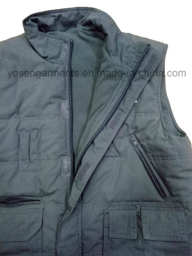 Men's Tc Body Warmer Padded Padding Winter Sleeveless Vest for Outdoor