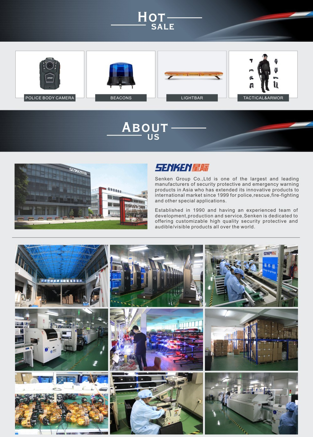 12V 24V Emergency Police Vehicle LED Mini Lightbar
