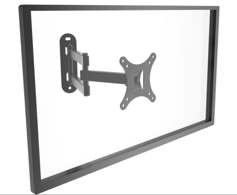 TV Wall Mount Black or Silver Suggest Size 10-24