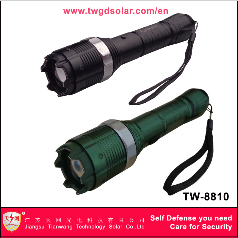 Heavy Voltage Stun Guns with Zoomable LED Flashlight