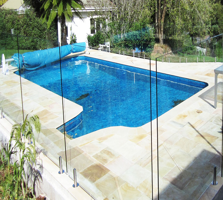 Clear Tempered Pool Fence