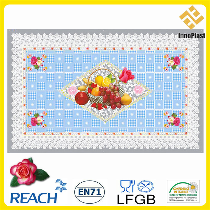 PVC Transparent All-in-One Tablecloth Independent Design (TZ0005A)