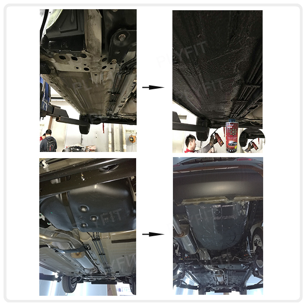 Car Underbody Coating Water Based Rubberized Undercoat