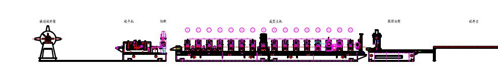 Semi-Automatic C Z U Purlin Roll Forming Machine-Bosj