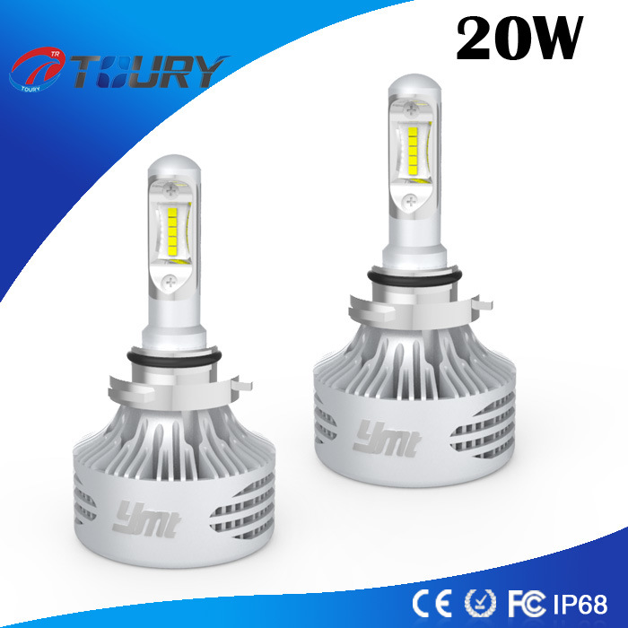 25W Power H1 H4 H7 9006 Headlamps LED Headlight Bulb