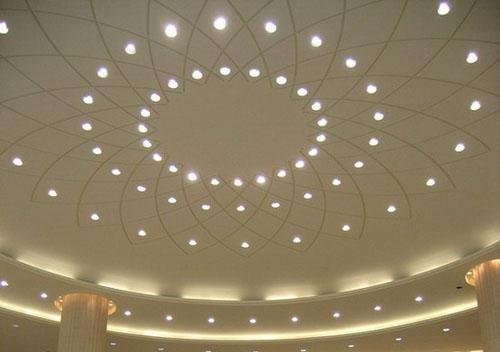 Perforated Aluminum Acoustic False Ceiling Tiles