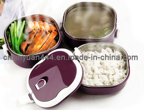 Stainless Steel Airtight Keep Warm Lunch Box (FT-2600)