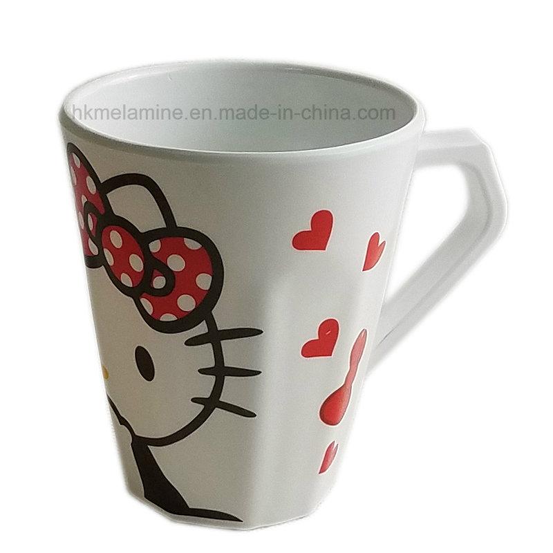 230ml Kids Melamine Mug with Cartoon Deisign (CP098)
