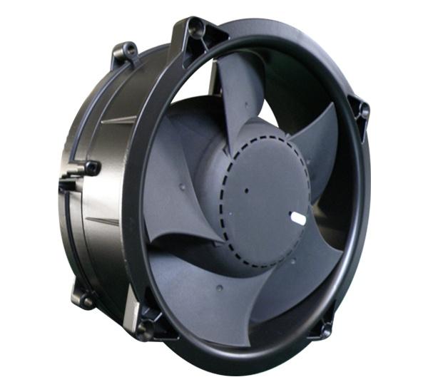 200mmx200mmx70mm Aluminum Housing Plastic Impeller DC Axial Fan