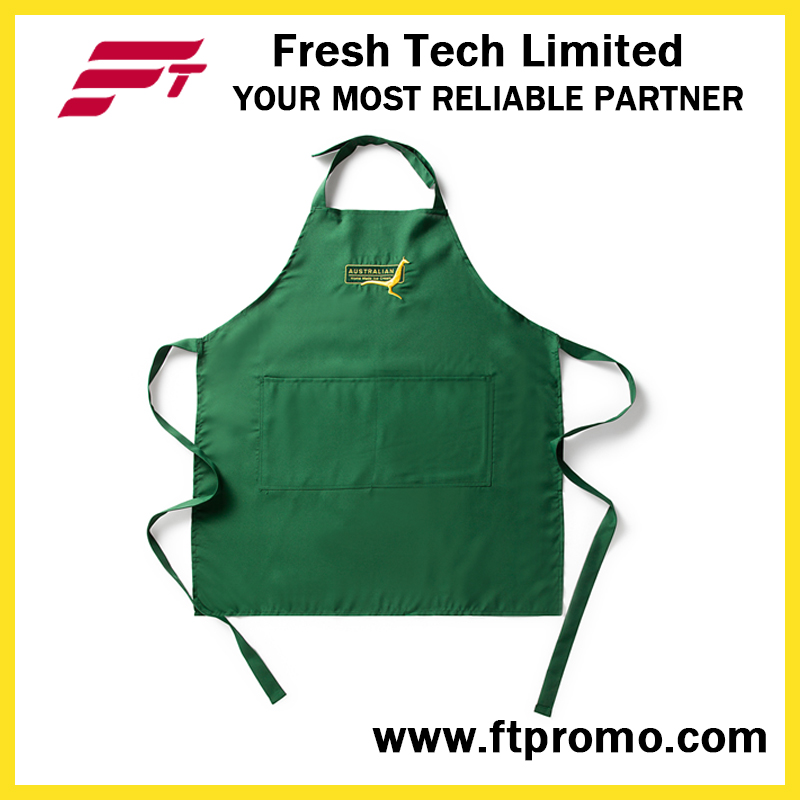 Professional Supplier 100%Cotton Apron with Designed Logo