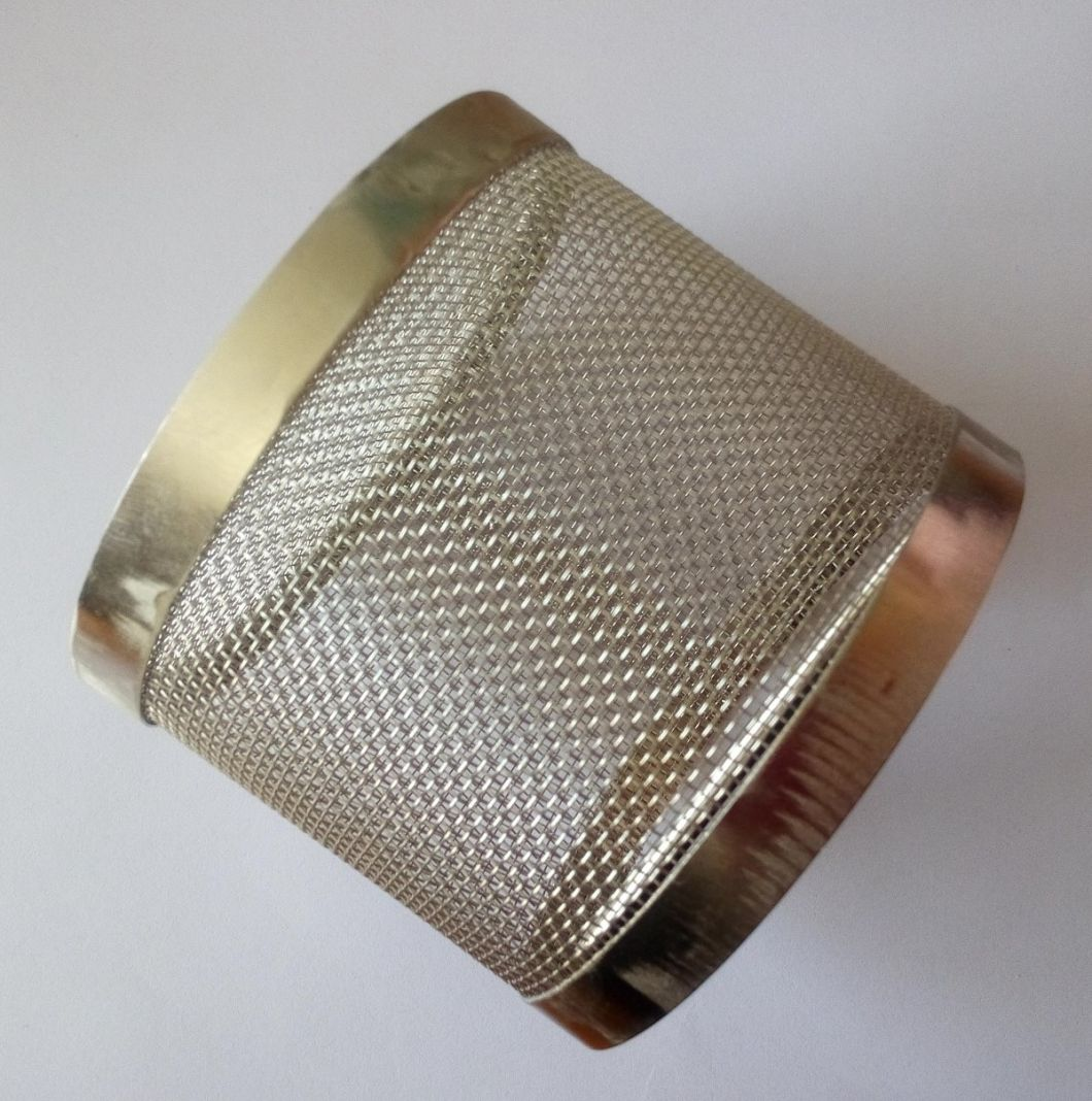 304 316 Woven Stainless Steel Filter Mesh Cylinder
