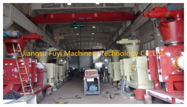 DG350 Calcium magnesium phosphate Double Roller Fertilizer Granulator
