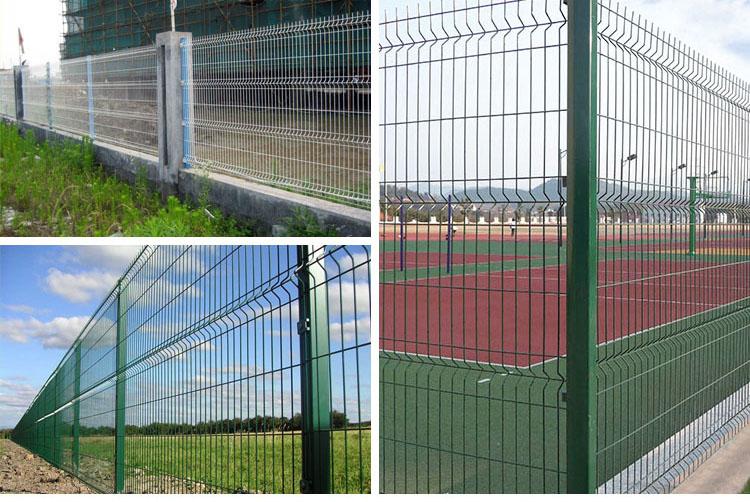 Metal Garden Fence Nylofor 3D Fence