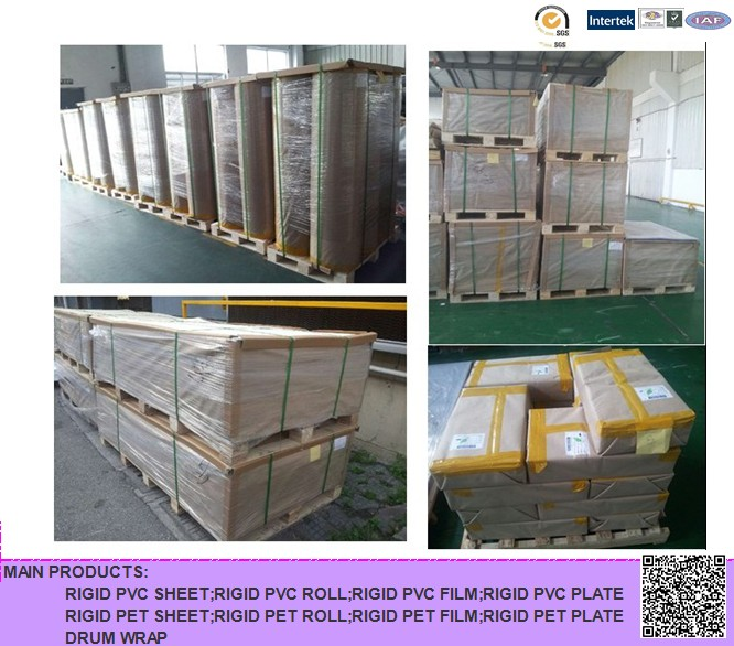 PVC Rigid Sheet for Folding Box