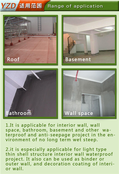 Single Component PU Liquid Membrane Polyurethane Waterproof Material