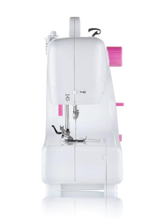 Multifunction Mini Zigzag Household Overlock Stitching Machine (fhsm-508)