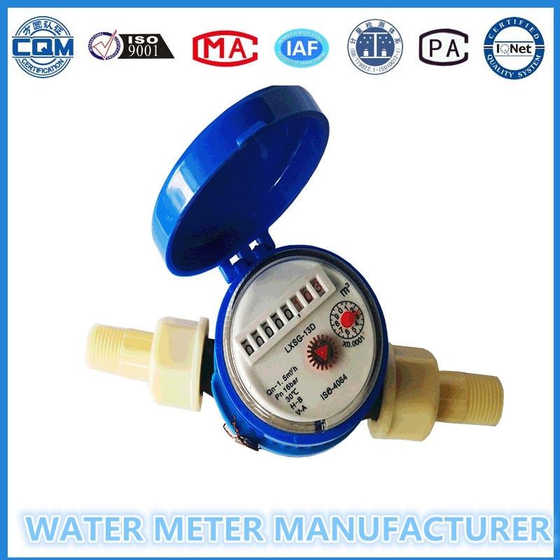 Dry Dial Nylon Single Jet Water Meter of China Water Meter