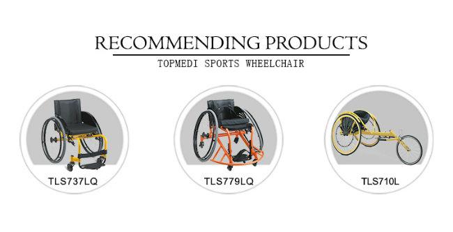 Aluminum Racing Sport Wheelchair