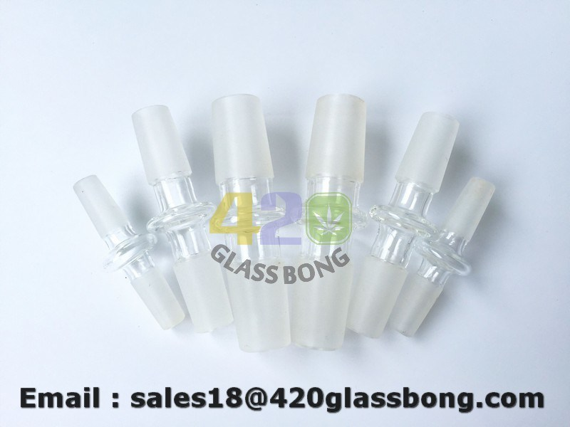 10mm/14mm/18mm Male Joint Glass Water Smoking Pipe Accessories Adapters
