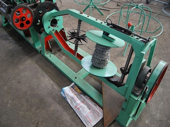 High Production Automatic Double Twist Barbed Wire Mesh Making Machine