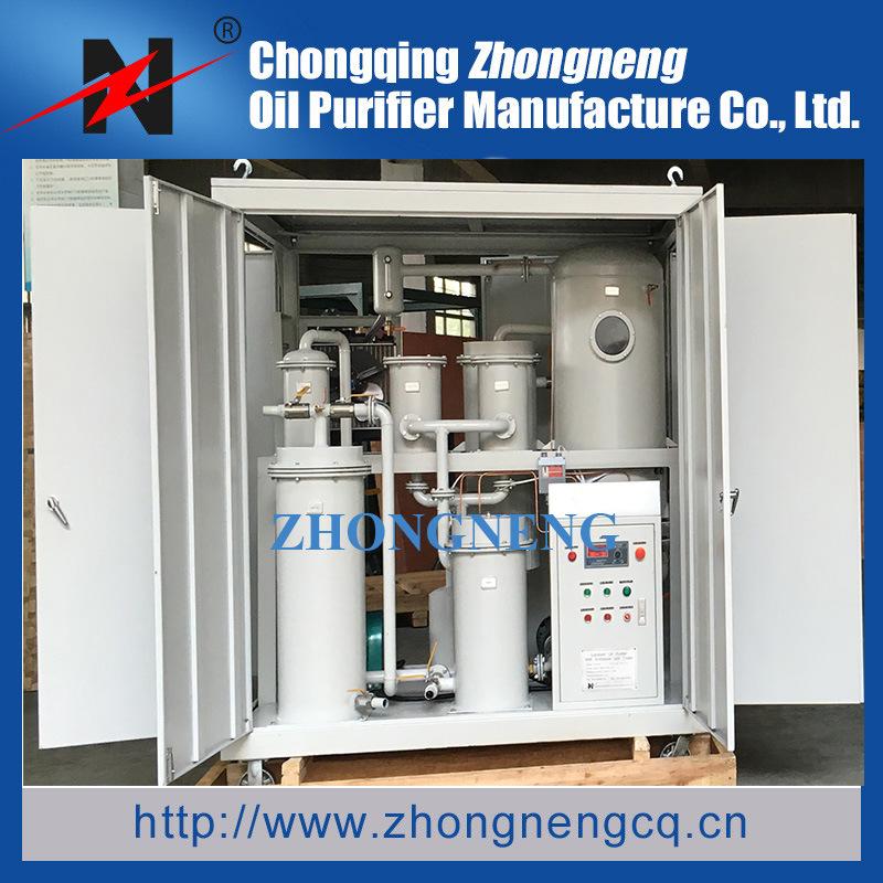 Multi-Function Vacuum Lubricating Oil Purification Plant, Lubricant Oil Filtration Plant, Enclosed Type Lube Oil Filtering Machine