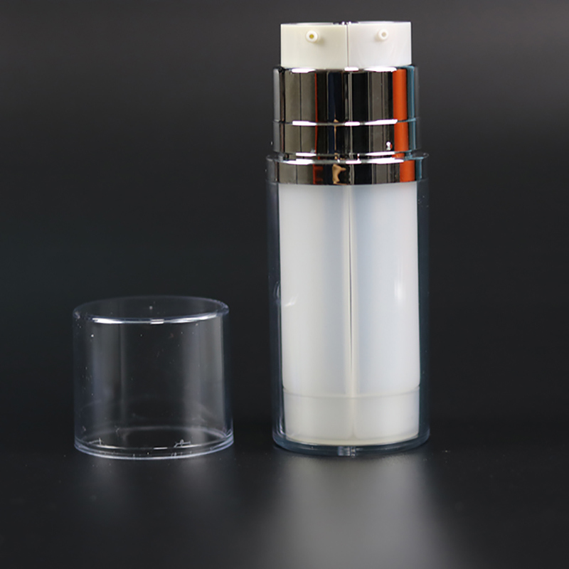 Double Tube Airless Bottle for Day and Night Cream (NAB38)