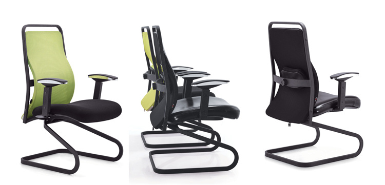 Metal Frame Visitor Chair for Meeting Table or Office Desk