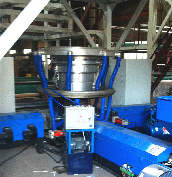 2 Layer Co-Ex Film Blown Machine with 2ND Traction