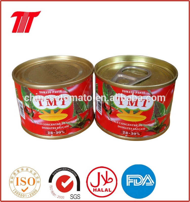 210 G Tin Tomato Paste for Nigeria, Benin, Togo West Africa